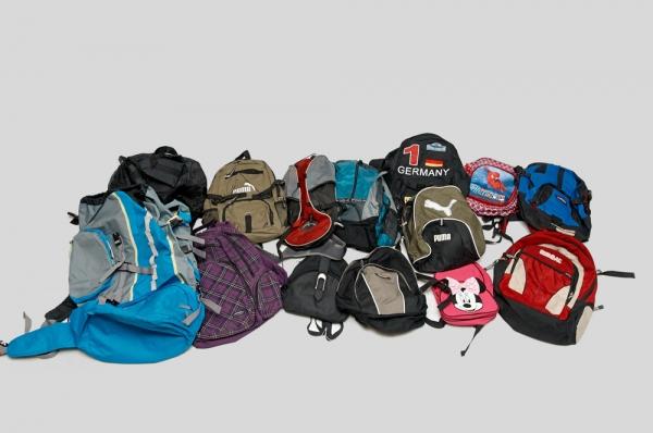 Секонд-хенд рюкзак рюкзак фирмы mcm